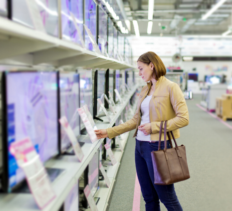 Contextually targeted acquisition for the electrical retail sector